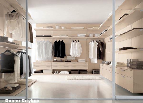 Idee per realizzare una cabina armadio social casa - Strutture per cabina armadio ...