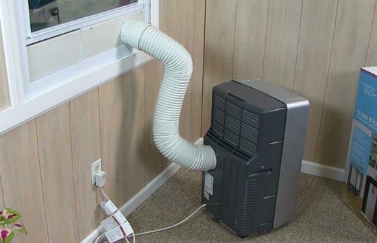 Come avere l 39 aria condizionata se non si pu installare il condizionatore social casa - Kit finestra condizionatore portatile ...
