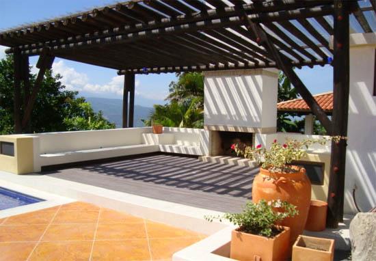 Idee per arredare una veranda in terrazzo o in giardino